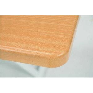 ※同梱「直送」リフティングテーブル/昇降式テーブル【幅105cm/ナチュラル】無段階高さ調節可木目調KT-3170NA【】