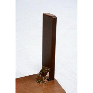 ※同梱「直送」折りたたみテーブル/ローテーブル【長方形/幅120cm】ダークブラウン木製木製木目調VT-7922-120DBR【】