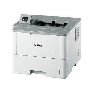 ※同梱「直送」ブラザー工業A4モノクロレーザープリンター50PPM/両面印刷/有線・無線LANHL-L6400DW