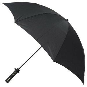※同梱「直送」名刀雨傘折り畳みタイプ【守傘】竜龍黒色化粧箱付[日本製]【】