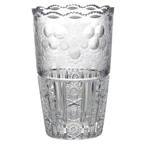 直送・代引不可 【Bohemian Garden】ボヘミアンガーデン 花瓶(ベース) 高さ25.5cm EGL-503 別商品の同時注文不可:測定器・工具のイーデンキ