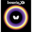 直送・代引不可バタフライ(Butterfly) 表ラバー IMPARTIAL XB(インパーシャルXB) 00410 ブラック TA別商品の同時注文不可