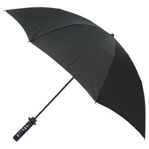 ※同梱「直送」名刀雨傘折り畳みタイプ【守傘】竜龍紺色化粧箱付[日本製]【】