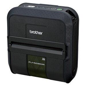 RJ-4030AI「直送」【・他メーカー同梱】ブラザー工業ラベルプリンター(ラベル・レシート兼用/USB/Bluetooth(MFi))RJ-4030Ai