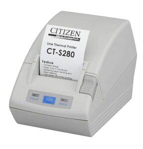 CT-S280PAJ-WH「直送」【・他メーカー同梱】シチズン・システムズコンパクトラインサーマルプリンタCT-S280パラレルI/Fモデル