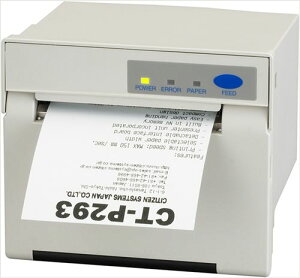 CT-P293-ALJ-WH-AT「直送」【・他メーカー同梱】シチズン・システムズサーマルパネルプリンタCT-P293