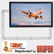 SWC-K425 「直送」【代引不可・他メーカー同梱不可】 DRAPER 大型トラス組立スクリーン Stage Screen 16:10 WUXGAフォーマット コンプリートキット