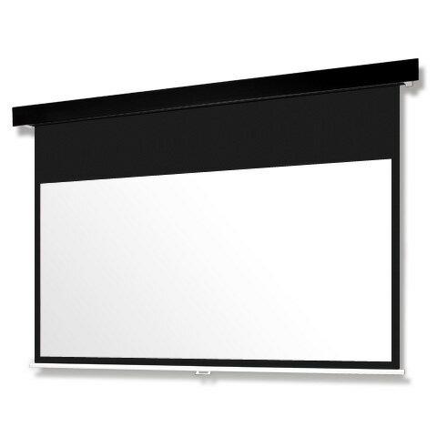 SMP-120HM-K1-WG103 「直送」【代引不可・他メーカー同梱不可】 オーエス Pセレクション手動スクリーン(黒パネル/120型HD):測定器・工具のイーデンキ