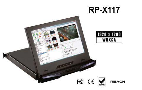 RP-X117SDI 「直送」【代引不可・他メーカー同梱不可】 オースティンヒューズ 1U 17インチ高解像度 LCDモニタードロアー(SDIオプション付):測定器・工具のイーデンキ