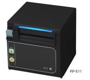 RP-E11-K3FJ1-1「直送」【・他メーカー同梱】セイコーインスツルPOSプリンタRP-E11黒色前紙排出USB/シリアル接続