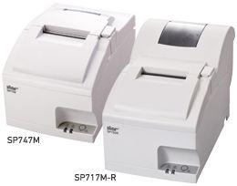 SP747MUJP「直送」【・他メーカー同梱】スター精密小型ドットプリンタSP747(電源内蔵/オートカッター搭載/USB接続モデル)