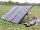 【送料無料 レビューでQuoカードget!】 桐生 [PVS-55WB] コールマン非常用ソーラー電源キット...