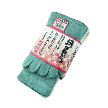 おたふく手袋[4970687407361] 絹のちから女性用5本指 3P S-298