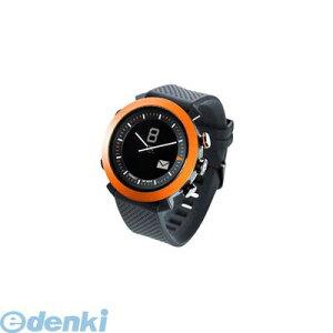 CONNECTEDEVICE[4562187616192]BluetoothSMART対応アナログ腕時計COGITOCLASSICシリコンバンドオレンジ【送料無料】