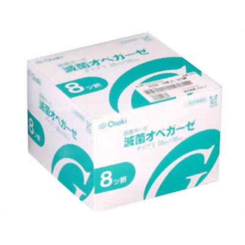 4971032108827 「直送」【代引不可・他メーカー同梱不可】 オオサキメディカル 滅菌オペガーゼ RS8-10 30袋