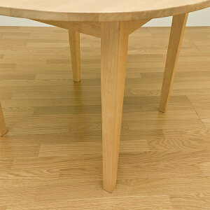 ※同梱「直送」ラウンドダイニングテーブル(サニー)丸型直径100cm木製ナチュラル【】