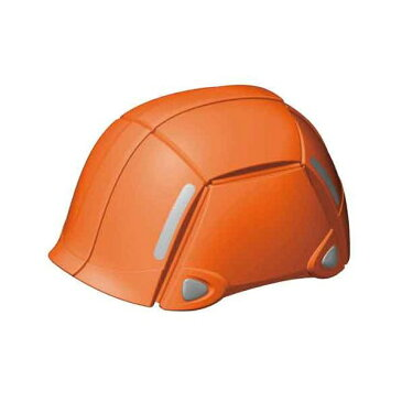 トーヨーセフテイー [NO100OR] 防災用折りたたみヘルメット BLOOM オレンジ