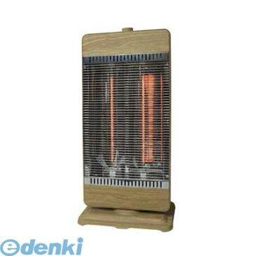 テクノス(TEKNOS) [CHM-4220] カーボンヒーター2灯【木目】ベージュ CHM4220
