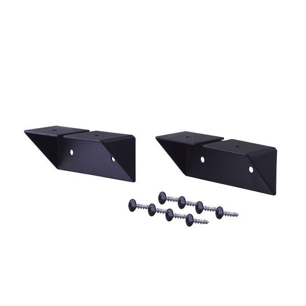IXK-2 LABRICO【ラブリコ】 シェルフサポート アイアン ブラック IXK2 平安伸銅工業 棚受 IRON ラブリコシェルフサポート金具アイアン ラブリコシェルフSPアイアン