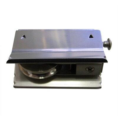 サッシのキュルキュル音(音鳴り)改善に将来的に必要になりそうなアルミサッシ取替戸車の例の外観:KAKEN12B28(楽天さん商品リンク写真画像)