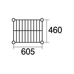 【ポイント2倍】137681 エレクター ステンレスエレクターSMS910:PS2200:6段