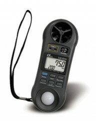セールSALE [LM-8000] AHLT-100 マルチ環境計測器一台で照度計.風速計.温度計.湿...
