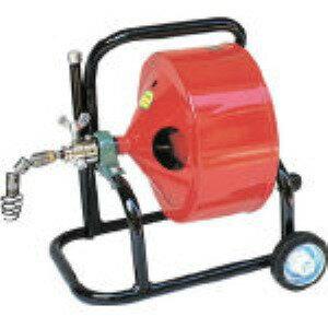ヤスダ[F4-12-15]排水管掃除機F4型キャスター型(12MMX15M)
