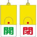 【あす楽対応】ユニット [857-33] 回転式両面表示板 開:緑文字...