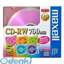 日立マクセル(Maxell) [CDRW80MIX.1P5S] データ用CD-RW MQシリーズ 5枚入り