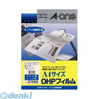 A-one(エーワン) [27055] OHPフィルム PPC(コピー)用 4906186270557