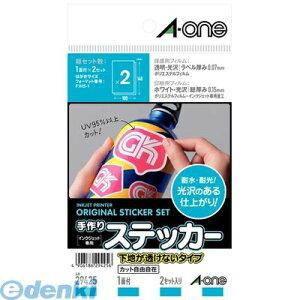 A-one(エーワン) [29425] 手作りステッカー[インクジェット]下地が透けないタイプ…