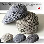 帽子メンズレースジャガードハンチング【送料無料】EdgeCity「000596」オールシーズン