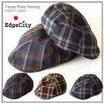 帽子メンズペイズリー柄パッチワークハンチング【送料無料】EdgeCity(エッジシティー)「000666」