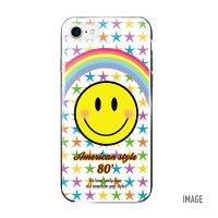 【DM便送料無料】iPhoneXケースかわいいハードケーススマホケース全機種対応iPhone7ケースハードケースiPhone8ケースハードiPhone8PlusiPhone7PlusiPhone6sAQUOSsenceSHV40GalaxyS8XperiaXZ1SOV36iPhoneケース顔文字ニコちゃんスター
