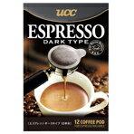 プロの味わいが自宅で簡単にお楽しみいただけます。UCC エスプレッソポッド ダークタイプ UCC-E...