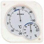 温度計・湿度計でうるおい生活。【ポイント10倍(8/31 00:00〜)】エンペックス 温湿度計 シュク...