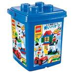 細かいサイズの基本ブロックが豊富に入った青いバケツで楽しくレベルアップ!【送料無料】レゴジ...