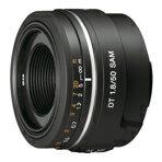 """デジタル一眼カメラ""""α""""用、APS-Cフォーマットのデジタル一眼レフカメラ専用単焦点レンズ。※..."""