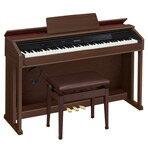 【送料無料】カシオ 電子ピアノ CELVIANO オークウッド調 AP-450BN [AP450BN]