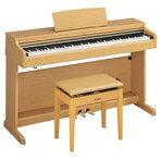 ワンランク上を目指したヤマハデジタルピアノのスタンダードモデル。高低自在椅子付き。【送料...