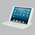 iPad miniを引き立たせるように設計された画期的な充電式のBluetoothキーボードとアルミニウム...