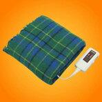 【ポイント10倍(〜9/24AM00:59まで)】ZEPEAL 電気掛毛布(120×80cm) グリーン DH-T1211-GR [DHT1211GR]