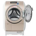ナイアガラ洗浄で差が出る洗い上がり!【送料無料】日立 10.0kgドラム式洗濯乾燥機(右開き) ビ...