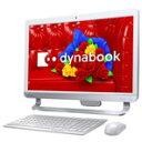 【ポイント10倍(〜6/5AM03:59まで)】【台数限定】【送料無料】東芝 ベーシック一体型デスクトップ Kual dynabook リュクスホワイト PD51332LSXWS3 [PD51332LSXWS3]