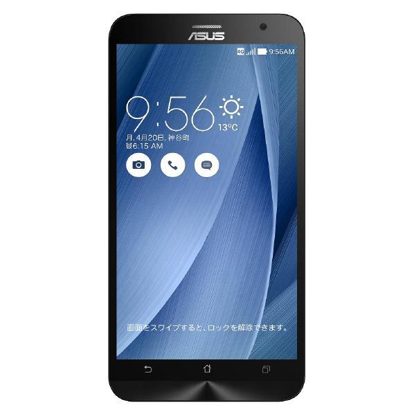【送料無料】ASUS ASUS Zenfone2 SIMフリースマートフォン LTE対応 ZenFone2 ZE551ML-GY64S4 [...