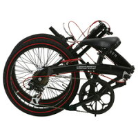 WACHSEN20インチアルミフレーム折りたたみ自転車6段変速BA-100-BRDAngriff(アングリフ)