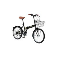 OTOMO20インチ折りたたみ自転車RaychellブラックFB-206Rブラツク[FB206Rブラツク]