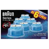 ブラウン クリーン&リニューシステム専用洗浄液カートリッジ 6個入り CCR6 [CCR6]