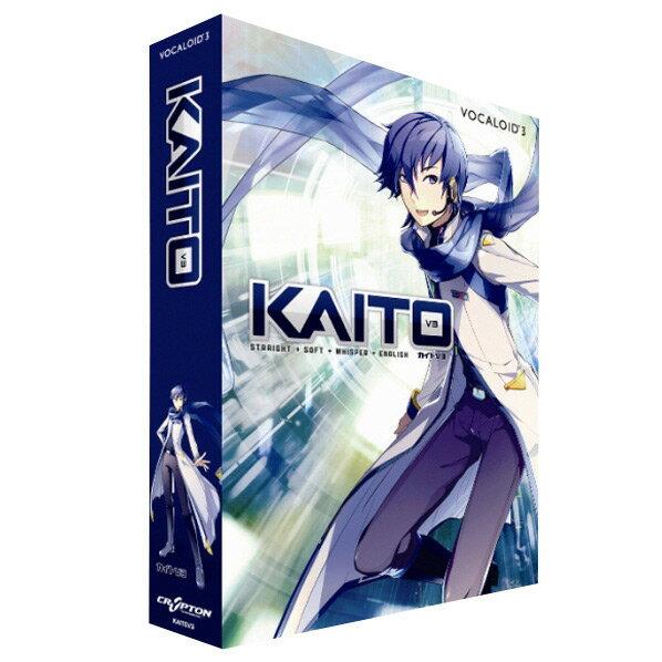 PCソフト, 音楽制作  VOCALOID3 KAITO V3Win(DVD-ROM) KAITOV3W KAITOV3WSDSP