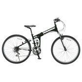 【送料無料】OTOMO 26インチ折りたたみ自転車 HUMMER マットブラック HUMMERFDB268WSUSマツトブラツク [HUMMERFDB268WSUSマツトブラツク]